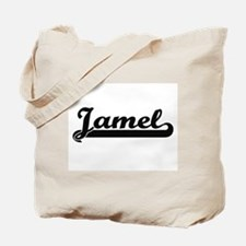 Jamel Classic Retro Name Design Tote Bag