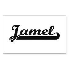Jamel Classic Retro Name Design Decal