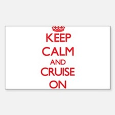 Keep Calm and Cruise ON Decal