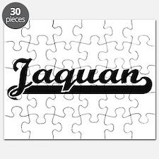 Jaquan Classic Retro Name Design Puzzle