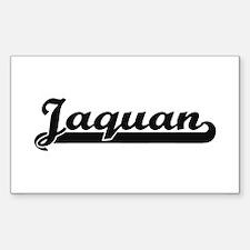 Jaquan Classic Retro Name Design Decal