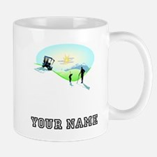 Golfing Paradise (Add Name) Mugs