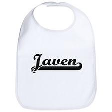 Javen Classic Retro Name Design Bib