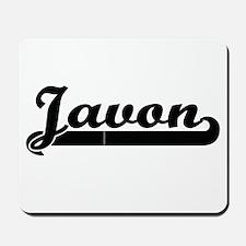 Javon Classic Retro Name Design Mousepad