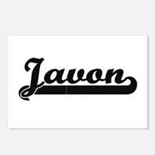 Javon Classic Retro Name Postcards (Package of 8)