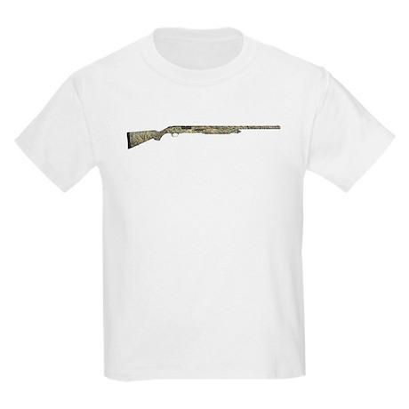 Cammo ShotGun Kids Light T-Shirt