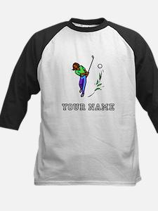 Woman Golfer (Add Name) Baseball Jersey