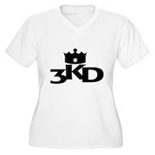 3 Kings Day Black Plus Size T-Shirt