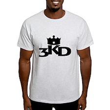 3 Kings Day Black T-Shirt