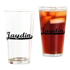 Jaydin Classic Retro Name Design Drinking Glass
