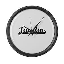 Jaydin Classic Retro Name Design Large Wall Clock