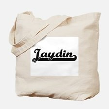 Jaydin Classic Retro Name Design Tote Bag