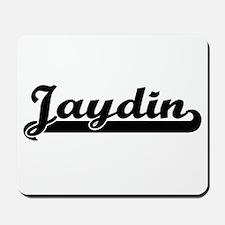 Jaydin Classic Retro Name Design Mousepad