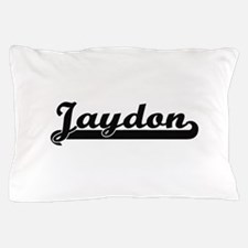 Jaydon Classic Retro Name Design Pillow Case