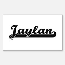 Jaylan Classic Retro Name Design Decal
