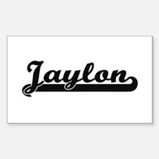 Jaylon Classic Retro Name Design Decal