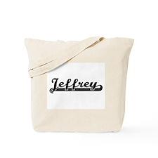 Jeffrey Classic Retro Name Design Tote Bag