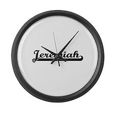 Jeremiah Classic Retro Name Desig Large Wall Clock