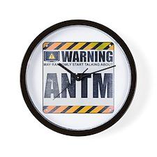 Warning: ANTM Wall Clock
