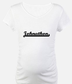 Johnathon Classic Retro Name Des Shirt