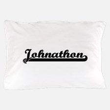 Johnathon Classic Retro Name Design Pillow Case
