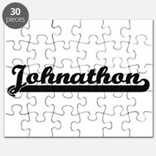 Johnathon Classic Retro Name Design Puzzle