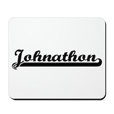 Johnathon Classic Retro Name Design Mousepad