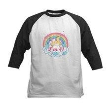 4th Birthday Unicorn Tee