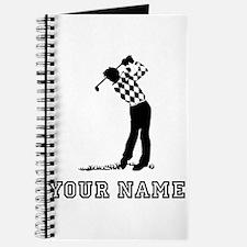 Golfer (Add Name) Journal