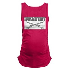 INFANTRY CROSSED RIFLES Maternity Tank Top