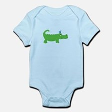 Preppy Green Alligator Body Suit