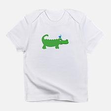 Preppy Green Alligator Infant T-Shirt