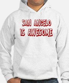 San Angelo is awesome Hoodie