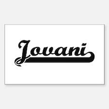 Jovani Classic Retro Name Design Decal