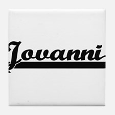Jovanni Classic Retro Name Design Tile Coaster