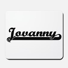 Jovanny Classic Retro Name Design Mousepad