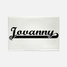 Jovanny Classic Retro Name Design Magnets