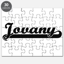Jovany Classic Retro Name Design Puzzle