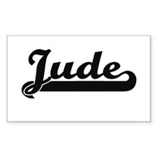 Jude Classic Retro Name Design Decal