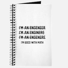 I'm Good With Math Journal