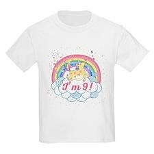 9th Birthday Unicorn T-Shirt