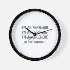 I'm Good With Math Wall Clock
