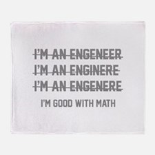I'm Good With Math Stadium Blanket