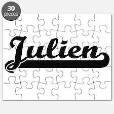 Julien Classic Retro Name Design Puzzle