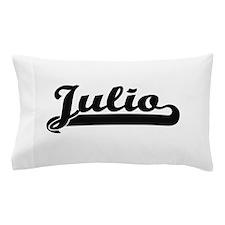 Julio Classic Retro Name Design Pillow Case