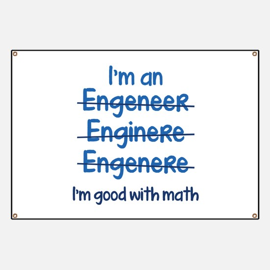 I'm Good With Math Banner