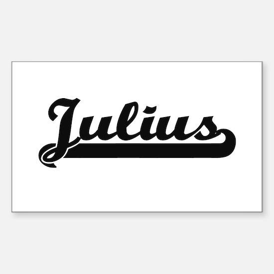 Julius Classic Retro Name Design Decal