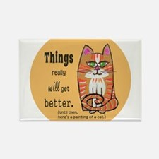 Funny Get well Rectangle Magnet