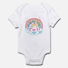 1st Birthday Unicorn Infant Bodysuit