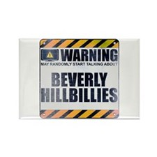 Warning: Beverly Hillbillies Rectangle Magnet
